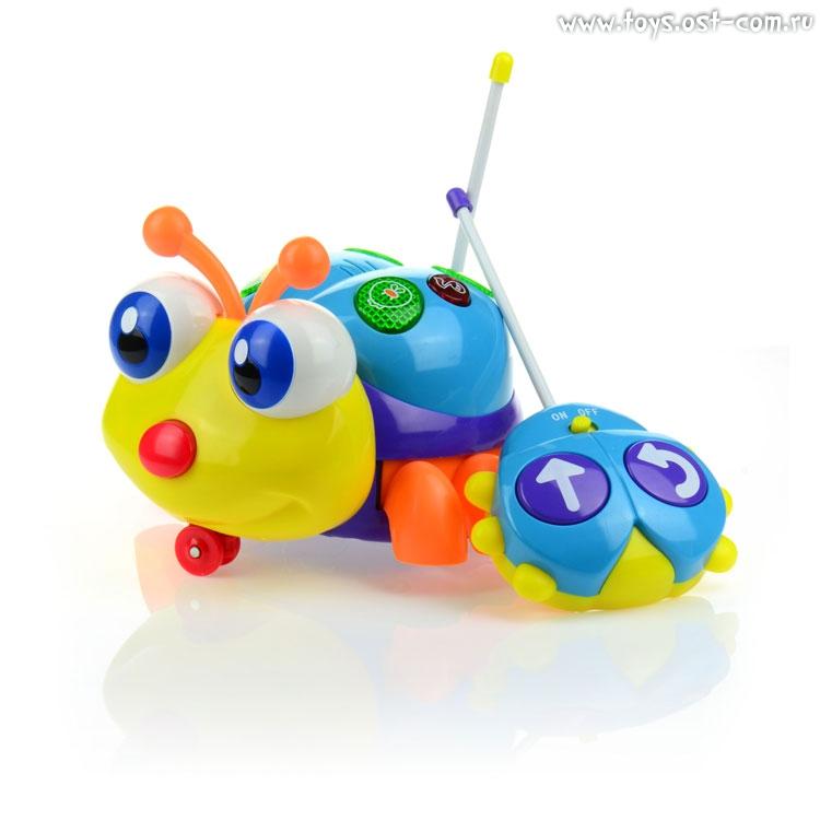 - Развивающая игрушка Солнечный жучок, р/у, со звуком, Малышарики