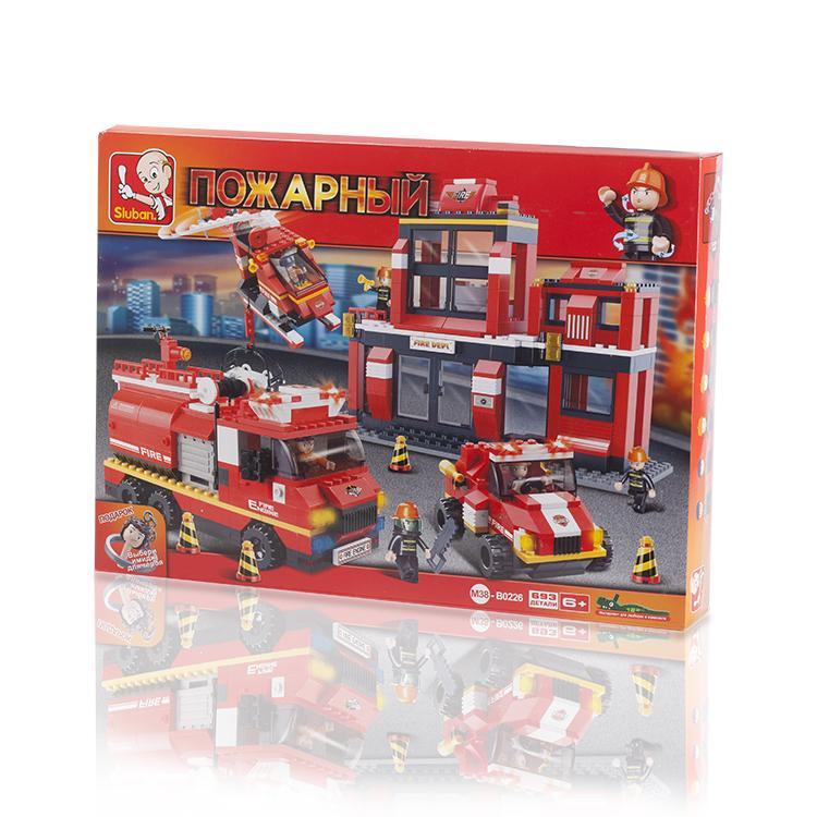 Zhorya пожарный набор 28,5*18*13,5смХ75361